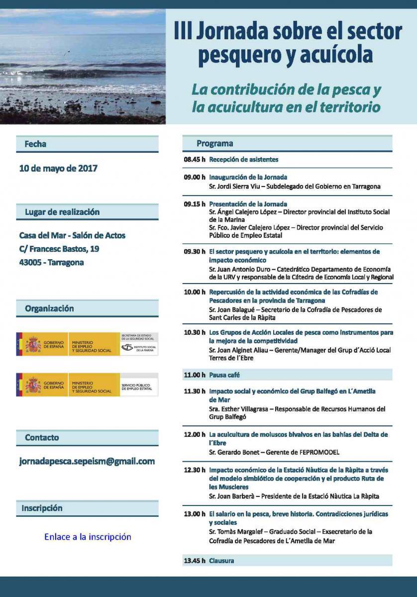 III Jornada sobre el sector pesquero y acuícola | Observatorio ...